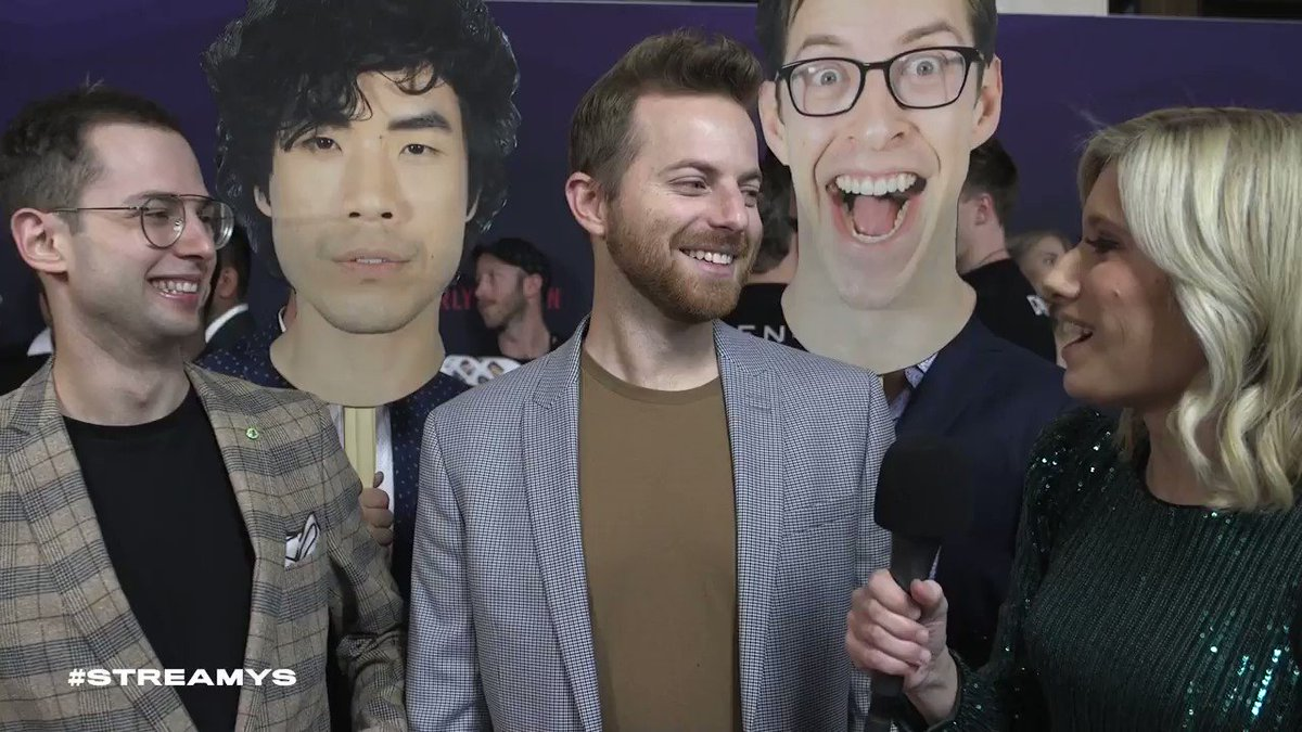 """.@tryguys look back on 2019 and play """"this or that"""" on the #streamys red carpet! https://t.co/RVVKifCNJL"""