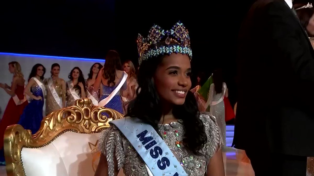 'We are going to pray first and thank God. And then we're going to eat… lots of cake,' said a jubilant Toni-Ann Singh of Jamaica, who won the Miss World 2019 pageant held in London https://reut.rs/35n0831