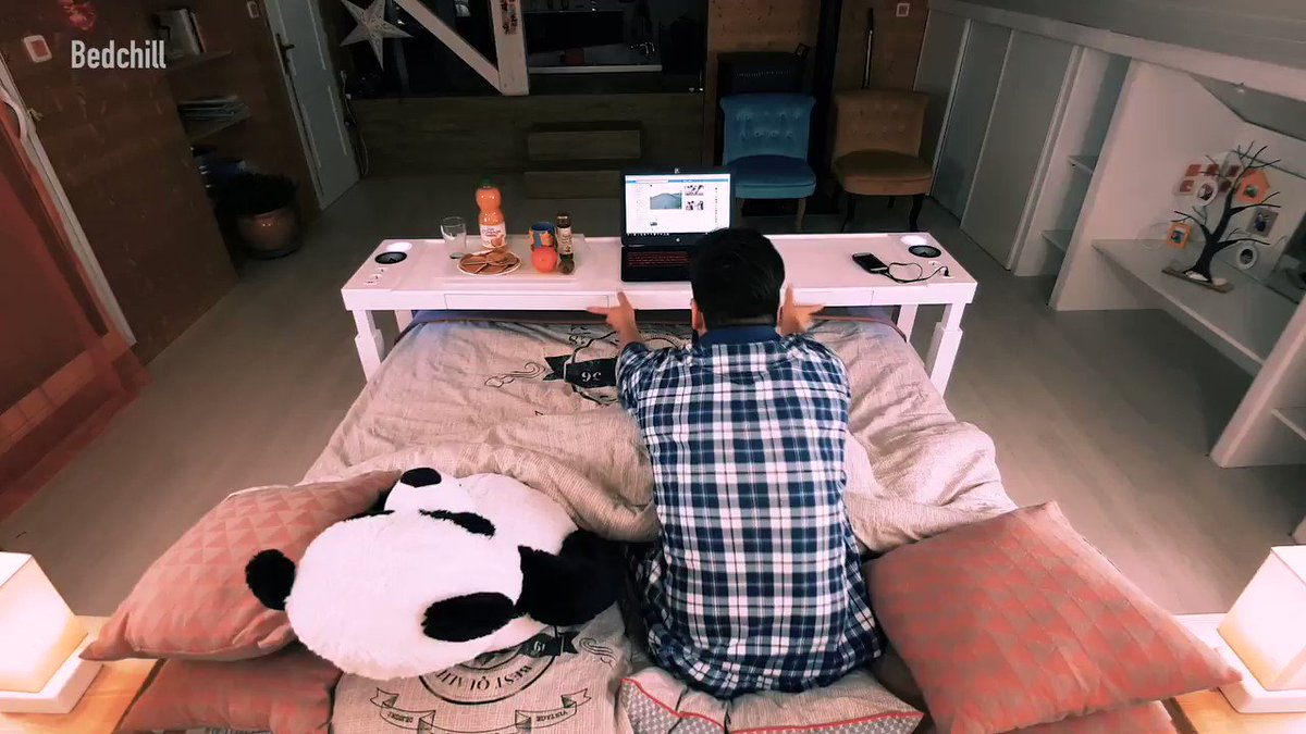 Turn Your Bed Into An Office (via @bestproducts)