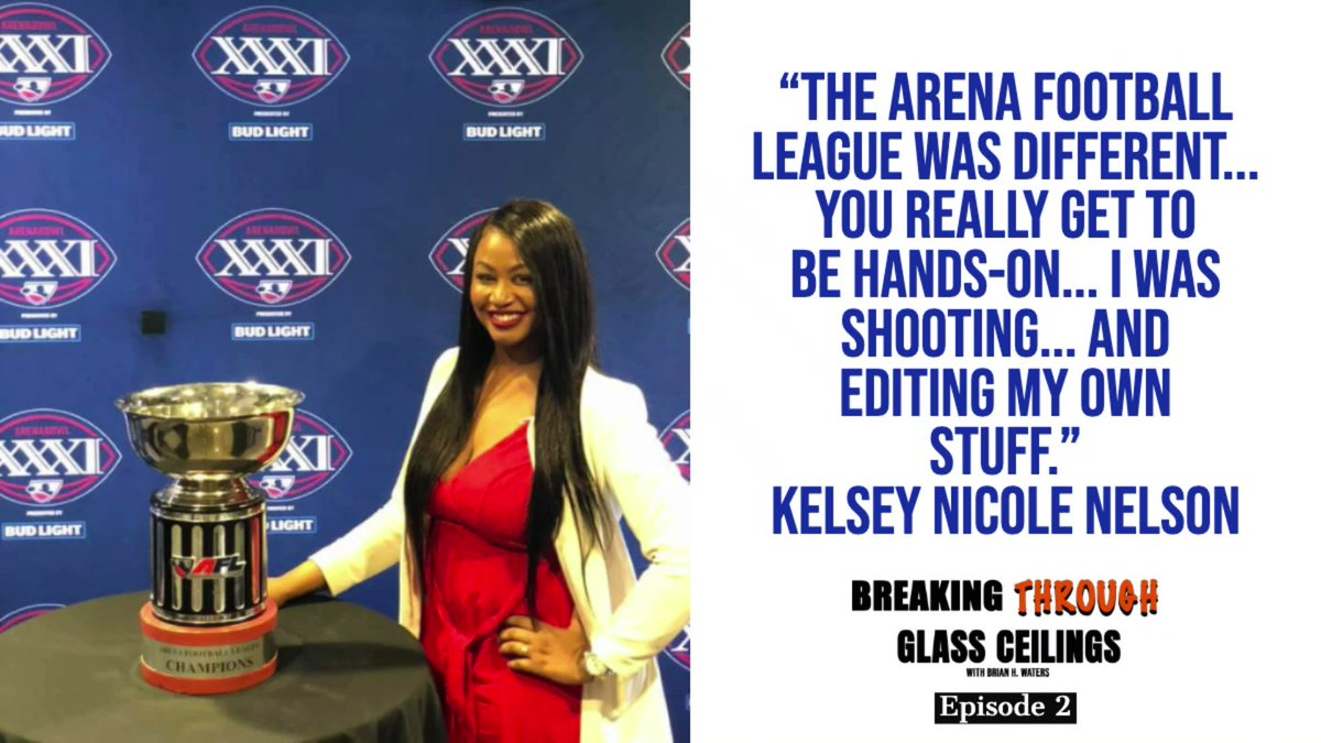 Coming up next week on Breaking Through Glass Ceilings W/ Brian H., @TheRealKNelson will discuss her career. Here is a preview of episode 2 Apple apple.co/2swWsx2 Anchor bit.ly/34kZsKp Spotify spoti.fi/38GU2g6 Google bit.ly/2Q2icJA