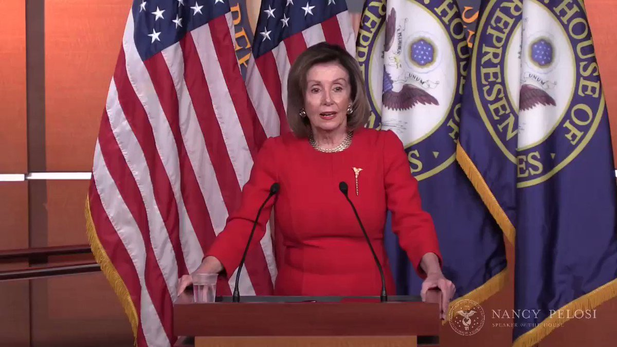 We are thankful to @SpeakerPelosi & her allies on the #USMCA working group, who pushed to remedy numerous shortcomings contained in the original USMCA text. The end result is a vast improvement over both the original NAFTA & the agreement negotiated by President Trump last year.