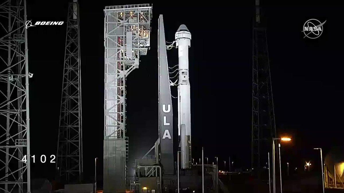 Liftoff! Go #Starliner! Go #AtlasV! https://t.co/wHbRh4u06O