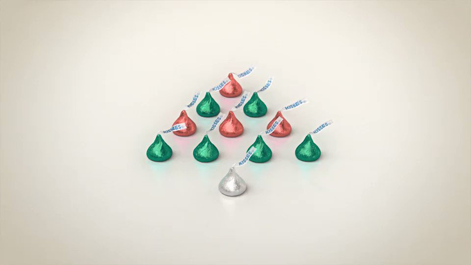Hope your holidays are filled with kisses. #heartwarmingtheworld