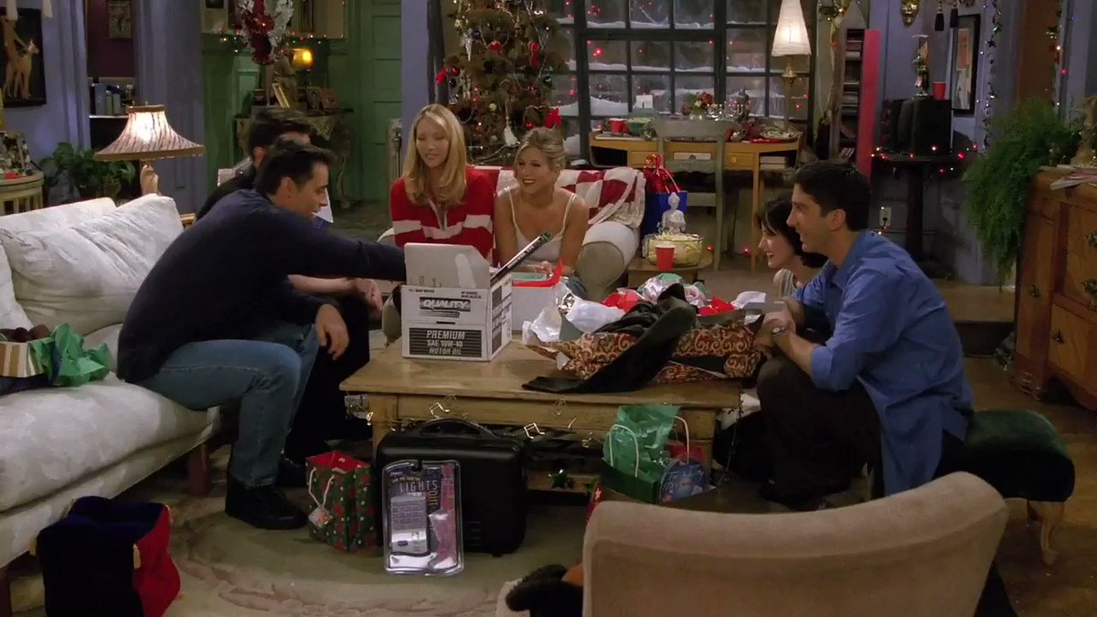 Replying to @FriendsTV: It's the thought that counts! #FRIENDS25