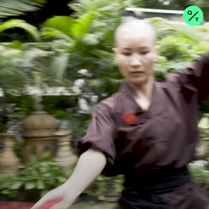 These Buddhist nuns are breaking centuries of tradition by doing kung fu Via @QuickTake
