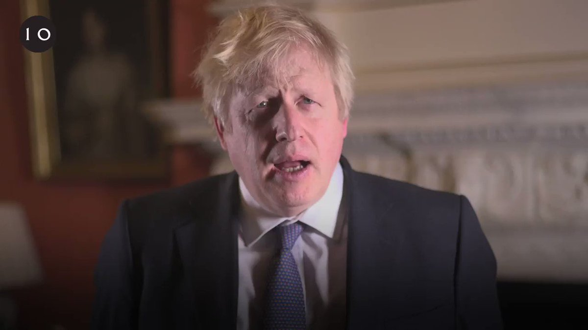 'Happy New Year! Let's make 2020 a fantastic year for Britain.' – PM @BorisJohnson
