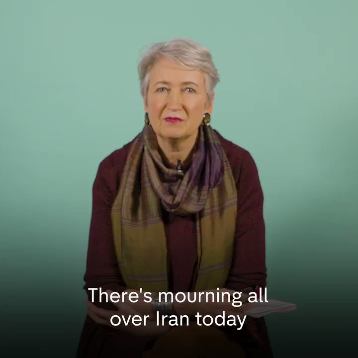 """""""They didnt kill him, Obama and Bush, because they feared what the consequences would be. Yet Trump it seems, he has no filters."""" @lindseyhilsum explains the importance of the killing of Qassem Soleimani and what might happen following his assassination by the US government."""