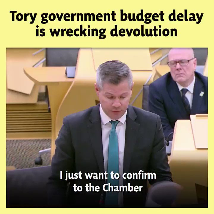 ✍️ @DerekMackaySNP wrote to the UK Chancellor seeking clarity on the UK Budget date - and got no reply. 🤷♀️ The UK Govt told the media today the Budget would be March 11th - the same day councils in Scotland legally must set budgets. 🚨 This is disrespectful of devolution.