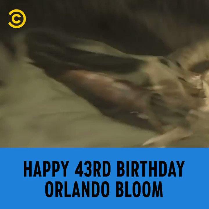 Legolas. Will Turner. Paris. What a career! Happy Birthday Orlando Bloom