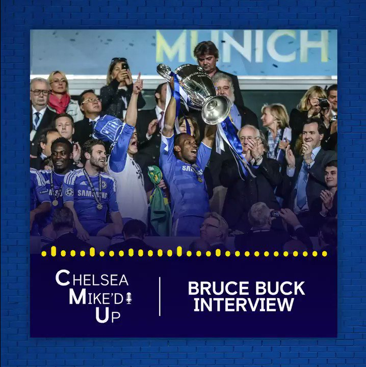 At halftime, they started putting the red ribbons on the trophy. Club Chairman Bruce Buck recalls THAT night in Munich 🔵🏆