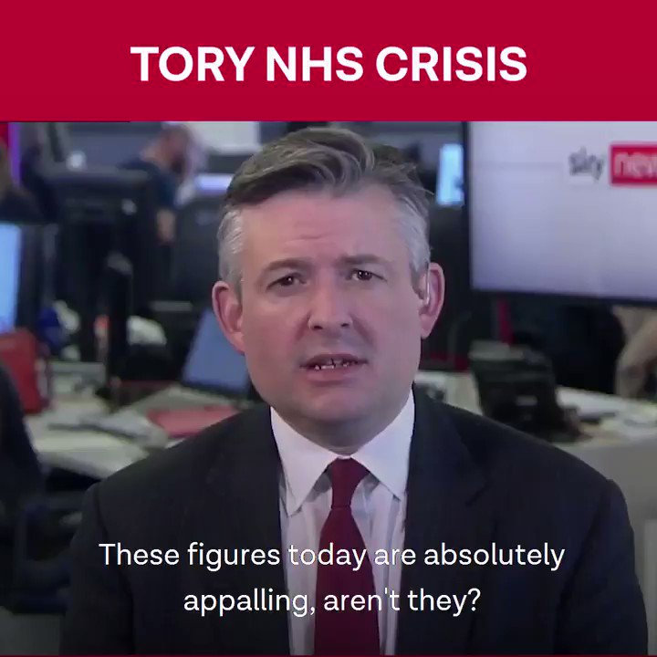Today's NHS figures are shocking and confirm it's a winter of misery for patients. Years of Tory bed reductions, understaffing & savage social care cuts have pushed the NHS into crisis.