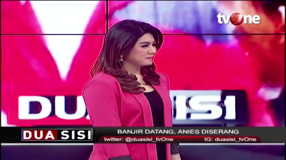 Salahkan Anies soal banjir, Haikal hassan: Kenapa Anies yang diserang? Dan serangannya dari seluruh Indonesia, maka kesimpulan sementara ini ada hubungannya dengan Pilpres lalu. #RepostNews #tvOneNews #DuaSisitvOne #Banjir2020
