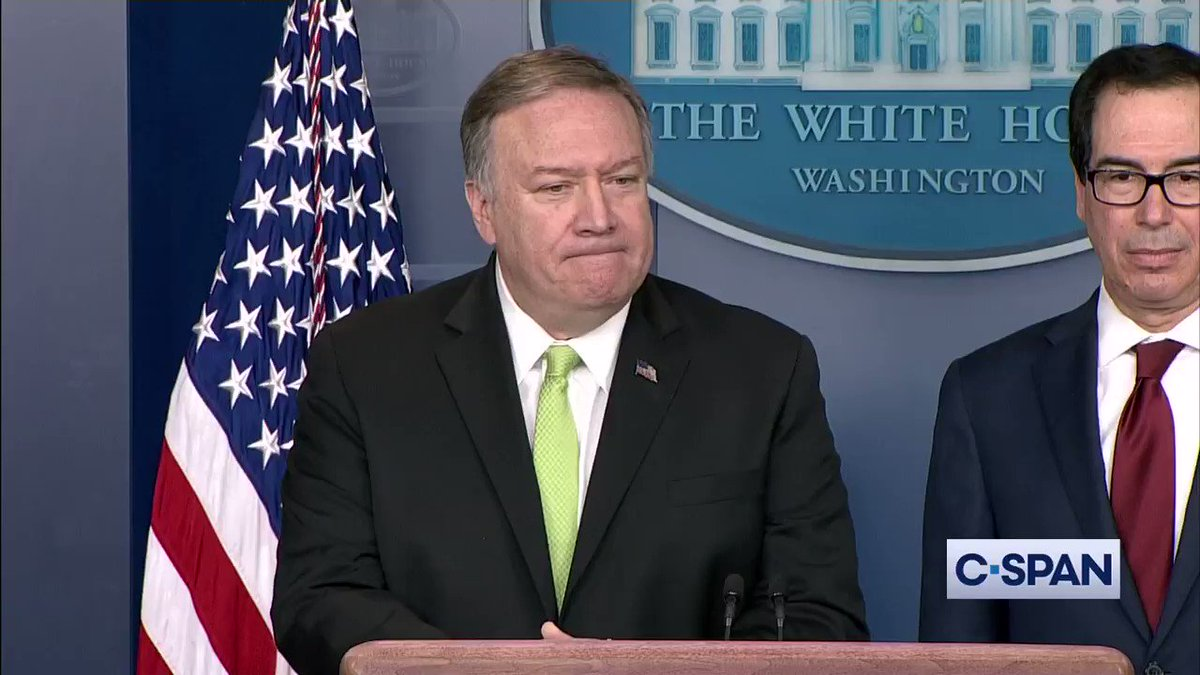 .@SecPompeo: We do believe that its likely that that place was shot down by an Iranian missile. Full video here: cs.pn/2sVLRN2