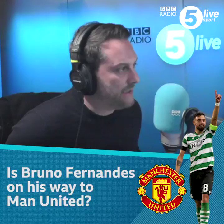 Bruno Fernandes to #MUFC?@BBCSport's @sistoney67 gives us an update on whether the Sporting Lisbon midfielder is on his way to Old Trafford 🏟️🔴🆕 Football Daily 👇📲: http://bbc.in/309BMb9#bbcfootball