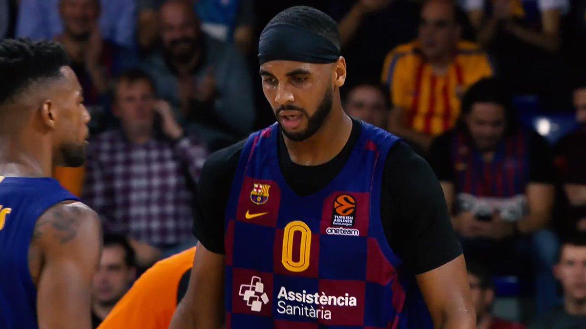 A milestone in Round 18... 1️⃣0️⃣0️⃣0️⃣ EuroLeague points for @Brandon_Davies0 👏 #GameON