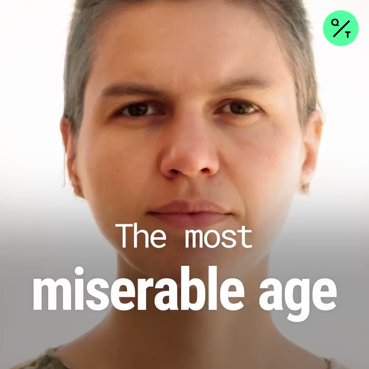 Middle age is miserable, according to a new economic study that pinpoints 47.2 as the age of peak unhappiness in the developed world.