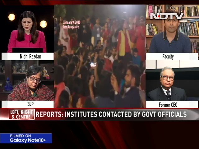""".@LRC_NDTV   """"The government should wake up to the fact that there is something very wrong in the manner in which they are conducting themselves"""": Jawhar Sircar, Former CEO, Prasar Bharti on protests against the amended #CitizenshipAct.Watch full show: https://www.ndtv.com/video/news/left-right-centre/anti-caa-scientists-scholars-under-government-lens-537744…"""