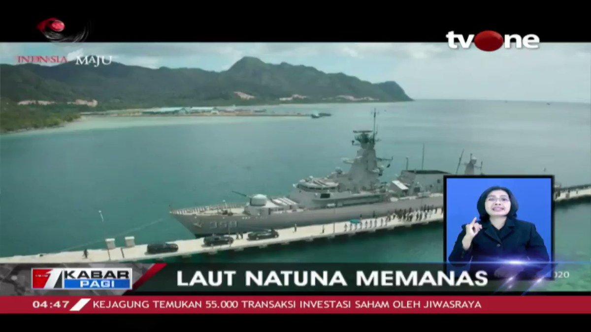 Kapal coast guard Cina berhasil dihalau dan sudah tidak berada lagi di wilayah ZEE Indonesia. DPR dikabarkan akan menambah anggaran Bakamla. Dapatkan berita terkini lainnya di tvOne connect. #tvOneNews #KabarPagitvOne #Natuna#tvOneNews #KabarPagitvOne #Natuna