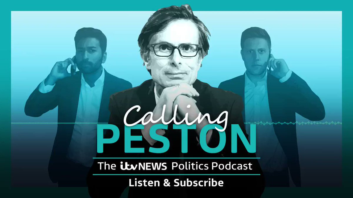 🚨The #CallingPeston podcast is back🚨 Listen to @Peston, @DanielHewittITV and @ShehabKhan every Thursday for all the political analysis and insight you need - theres even some humour too Subscribe on @ApplePodcasts, @Spotify or any other platform itv.com/news/2019-11-0…