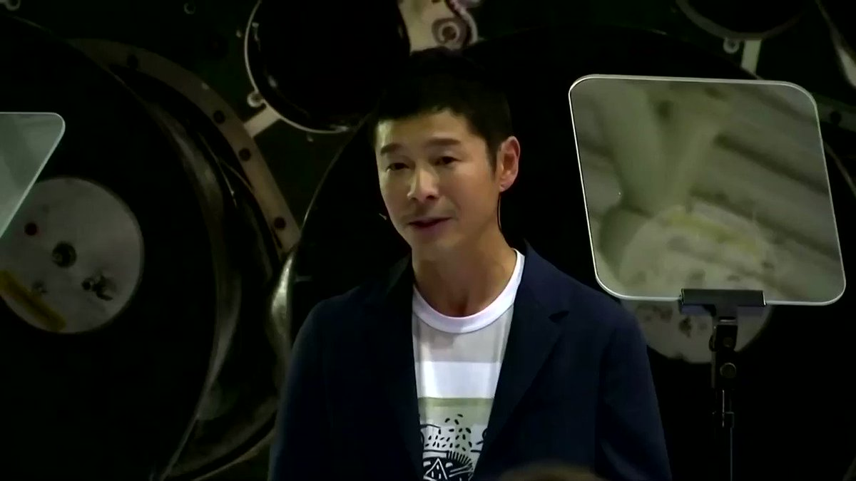 Japanese billionaire Yusaku Maezawa is looking for a 'life partner' to accompany him on a trip around the moon when he takes flight as SpaceX's first private passenger in 2023. Some Japanese remain skeptical https://reut.rs/2FRU2fO