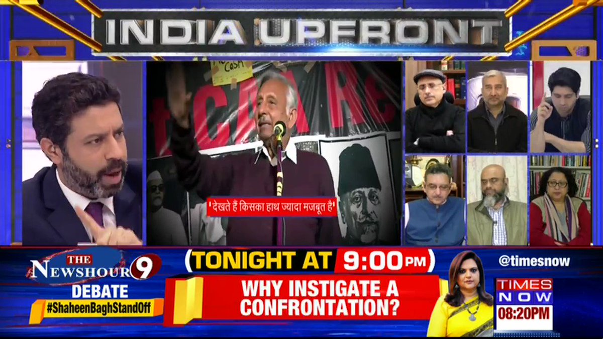 Mani Shankar Aiyar added fuel to the fire because he knew these protests were flagging: @neelakantha, Kashmiri Pandit tells Rahul Shivshankar on INDIA UPFRONT. | #ShaheenBaghStandOff