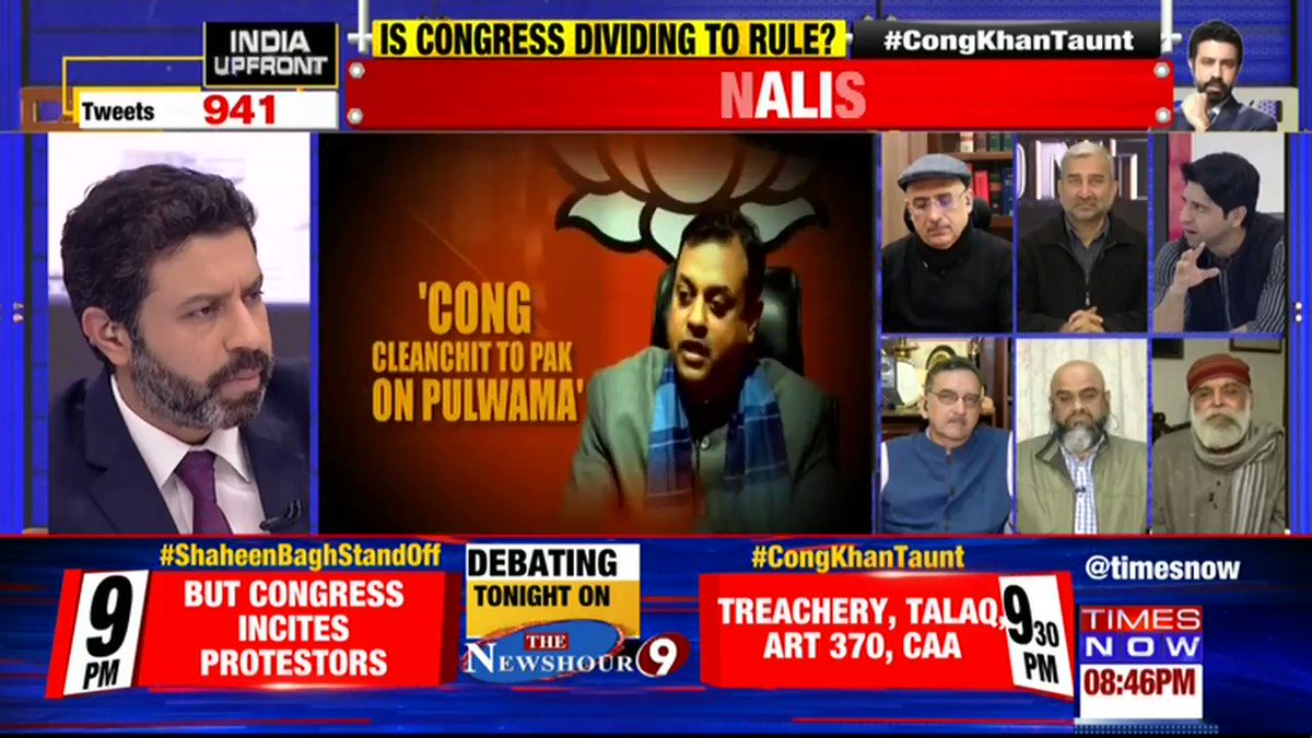 Opposition just listen& think terrorism is has no religion you're indirectly playing in hand of Pakistan who is the soil of terrorist@Shehzad_Ind, Lawyer tells Rahul Shivshankar on INDIA UPFRONT. | #CongKhanTaunt