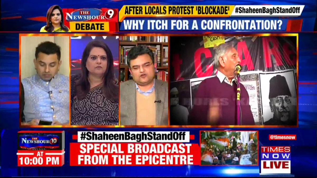 There is a long-standing joke that if PM Modi says that he loves the air that he is breathing, @INCIndia will start a protest saying don't breath the air: @ARanganathan72, Author & Scientist tells Navika Kumar on @thenewshour. | #ShaheenBaghStandOff
