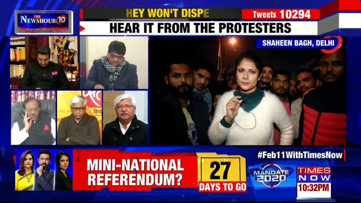 Jinnah is like a traitor for us: Asif Muhammad Khan, Ex MLA Congress tells Padmaja Joshi on @thenewshour AGENDA. | #ShaheenBaghStandOff
