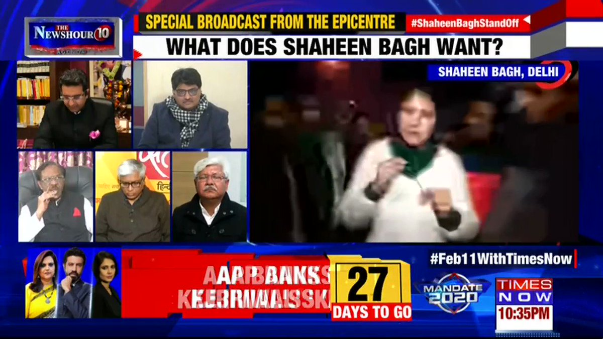 Shaheen Bagh is an epitome of peaceful protests: @Ashutosh83B, Political Analyst tells Padmaja Joshi on @thenewshour AGENDA. | #ShaheenBaghStandOff