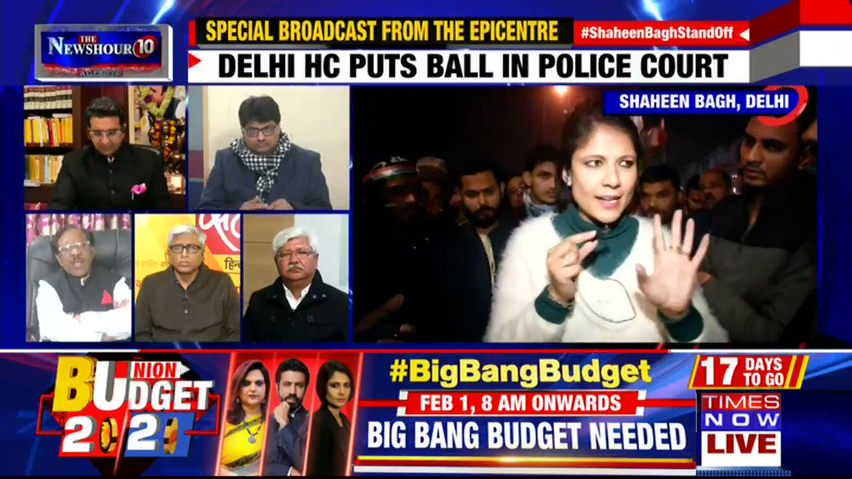 #ShaheenBaghStandOff | Listen in to what the protesters of Shaheen Bagh have to say on the impact of the protest on the public. | @thenewshour AGENDA with Padmaja Joshi.