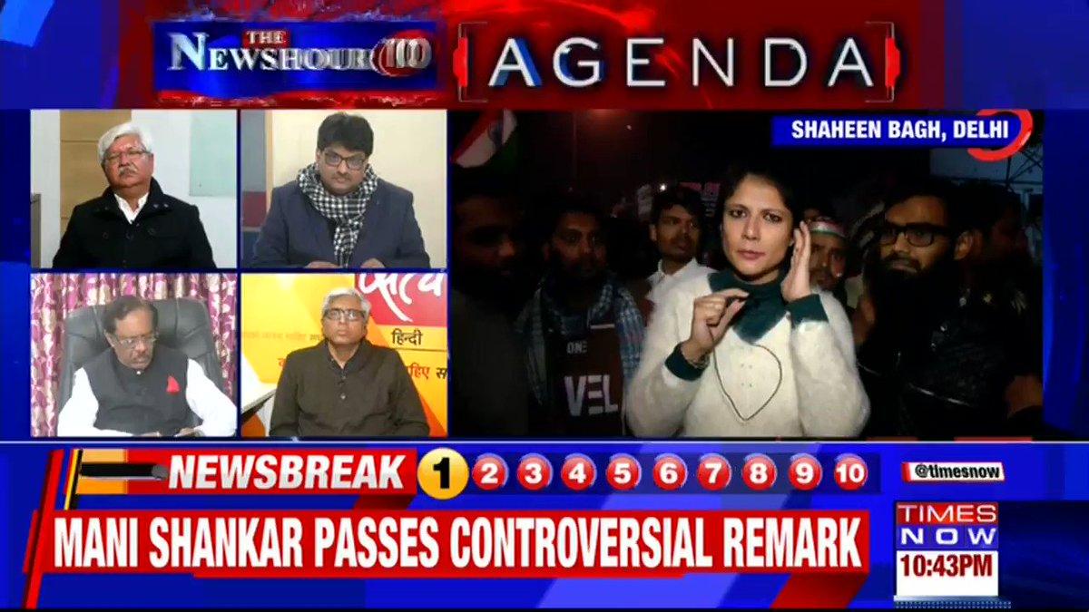 Every protest & demonstration will make somebody's life inconvenient: @Ashutosh83B, Political Analyst tells Padmaja Joshi on @thenewshour AGENDA. | #ShaheenBaghStandOff