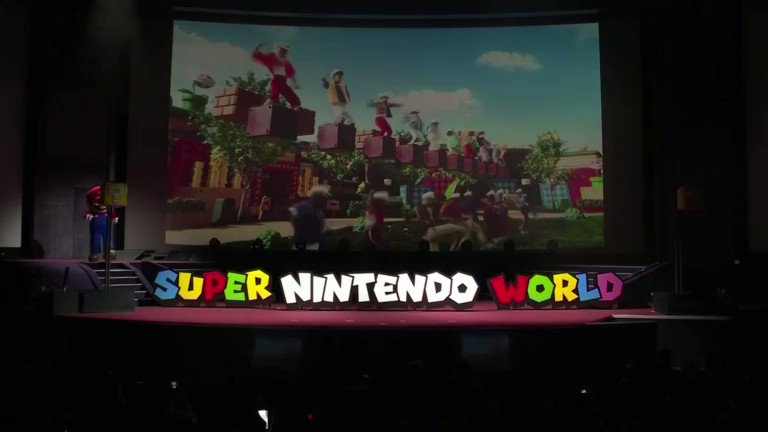 'We are delighted to introduce Super Nintendo World in the year that's going to attract so much attention to Japan from all over the world,' Universal Studios Japan CEO J.L. Bonnier says https://t.co/MN3BqxvhnU
