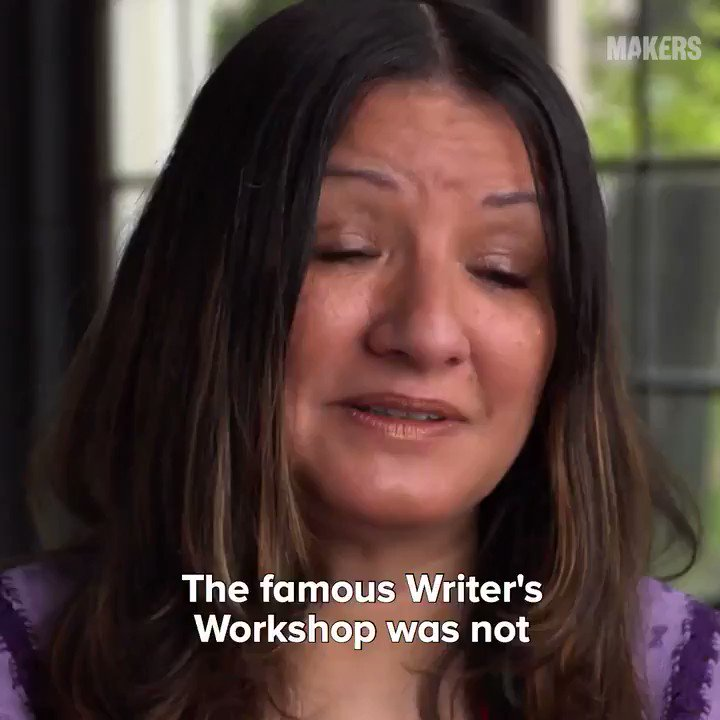 Author Sandra Cisneros on how she found her voice despite all the odds she faced. ✊