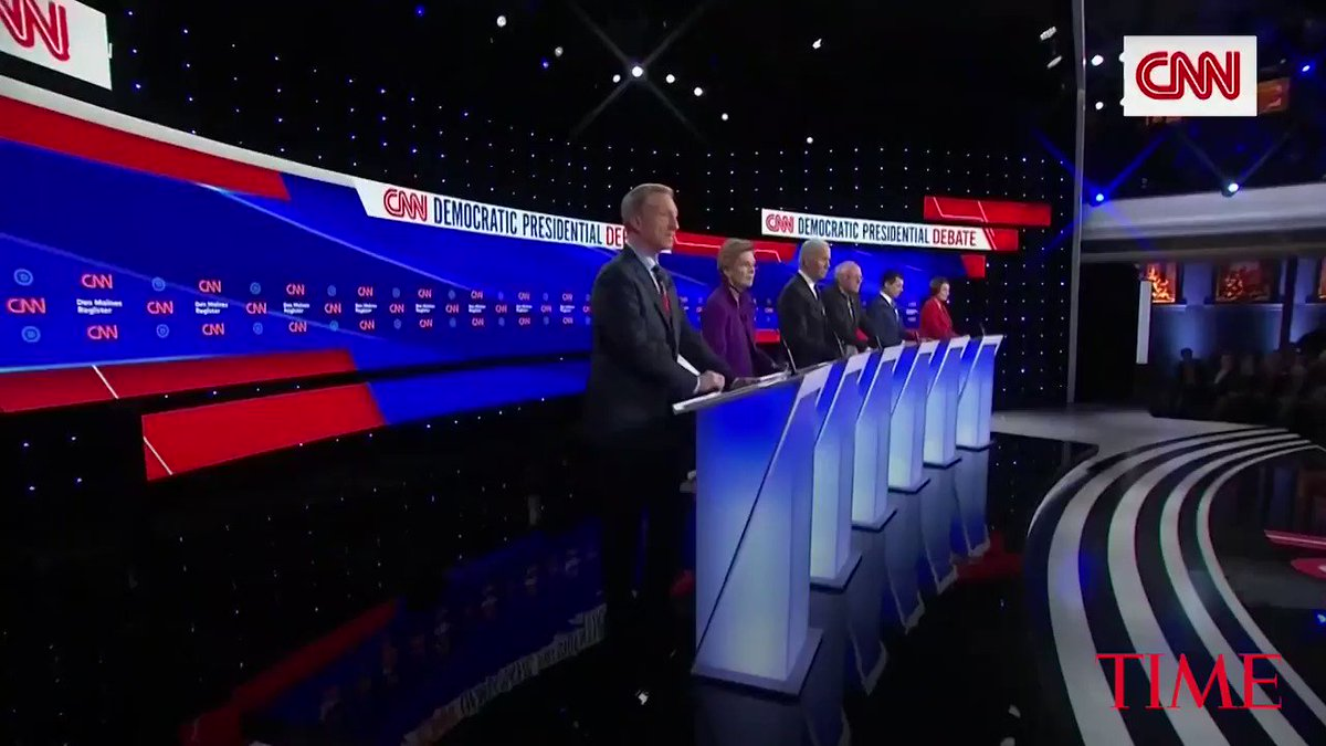 These are the biggest highlights from the January #DemDebate in Iowa https://t.co/spTemIxiR8 https://t.co/oL8K921zGT