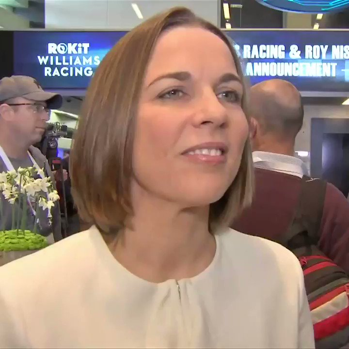 "🗣""I really think it's a historic announcement to have an Israeli driver in Formula 1""  @craigslatersky is in Tel Aviv speaking with @WilliamsRacing's Claire Williams on the signing of Roy Nissany✍️  #SkyF1 