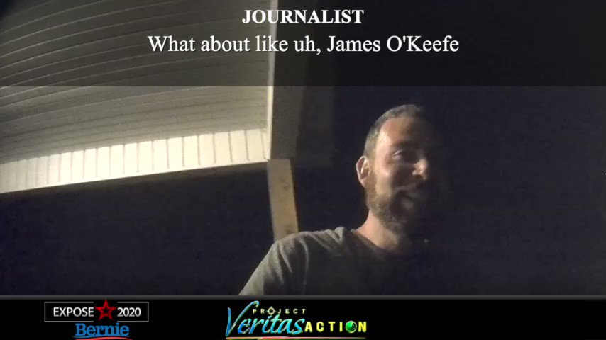 "Kyle Jurek: ""F*cking Project Veritas. [O'Keefe has] a special place in hell reserved for him... What wouldn't I do to that guy?""I take threats to myself and our staff very seriously. We have reported Kyle's threats against POTUS to @SecretService.He still works for Bernie."