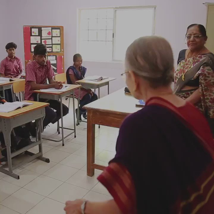 "BBC World Service on Twitter: ""Lakshmi Kalyanasundaram is still teaching at the ripe old age of 91… """