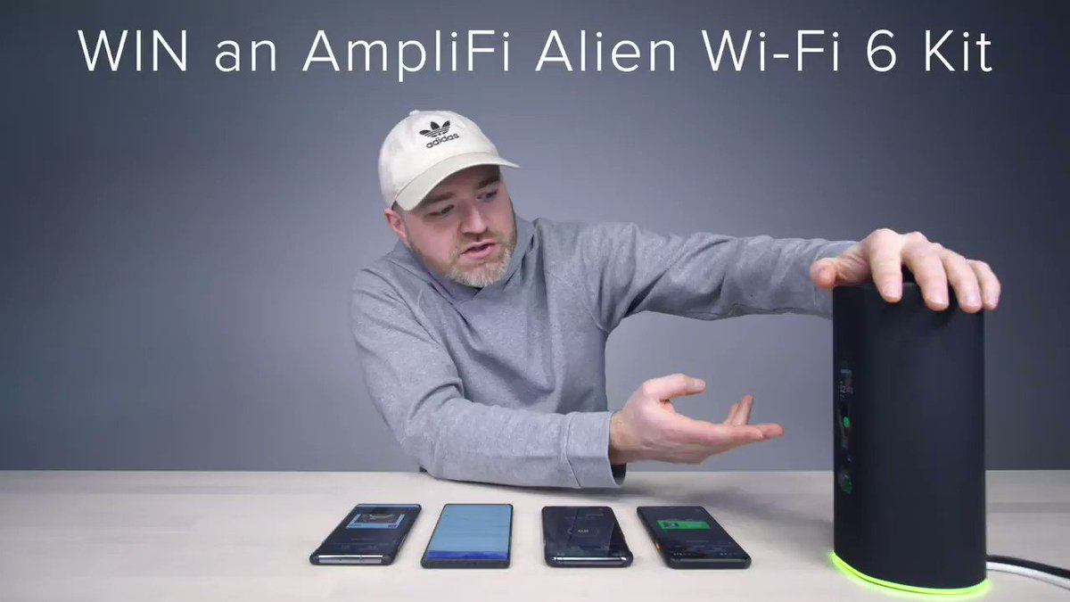Retweet and Follow for a chance to WIN an #AmpliFiAlien Mesh #WiFi6 Kit(MeshRouter and MeshPoint) - so you can connect to the fastest Wi-Fi on the planet! 🎥: @UnboxTherapy    US Only / 18+ | #Promo Rules →
