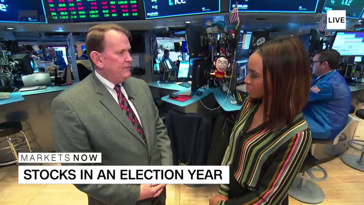 Here's how the market may predict the next president https://cnn.it/2GkpOCN