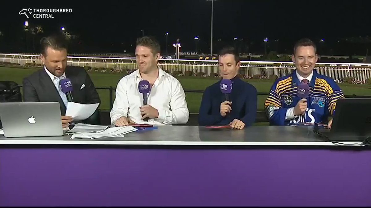 Had a lot of fun on the panel with Sky Thoroughbred Central last night. It was great to tip a few winners for the punting challenge and win $2000 for the Beanies for Brain cancer foundation. Although I was stumped by this question, I needed my calculator 😂😂😂