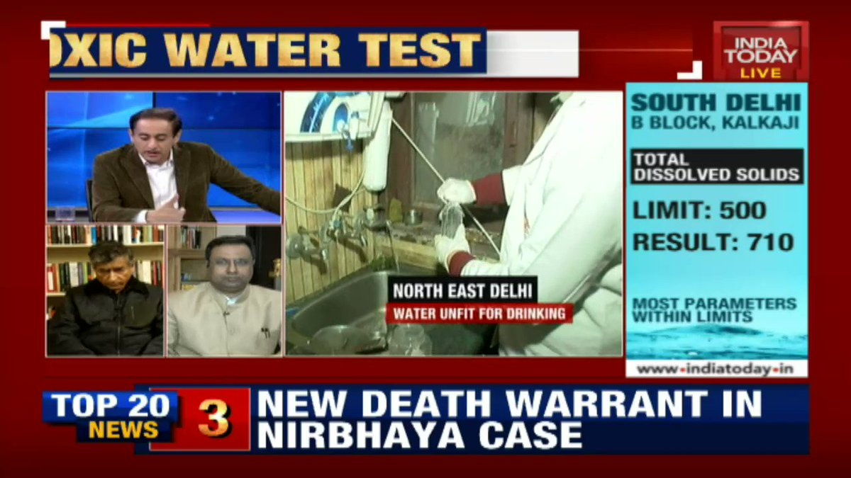 Politicians should not use water as a political gambit, says @KamaIChenoy, Academic & Activist#OperationPaani (@rahulkanwal)Watch live: http://bit.ly/IT_LiveTV