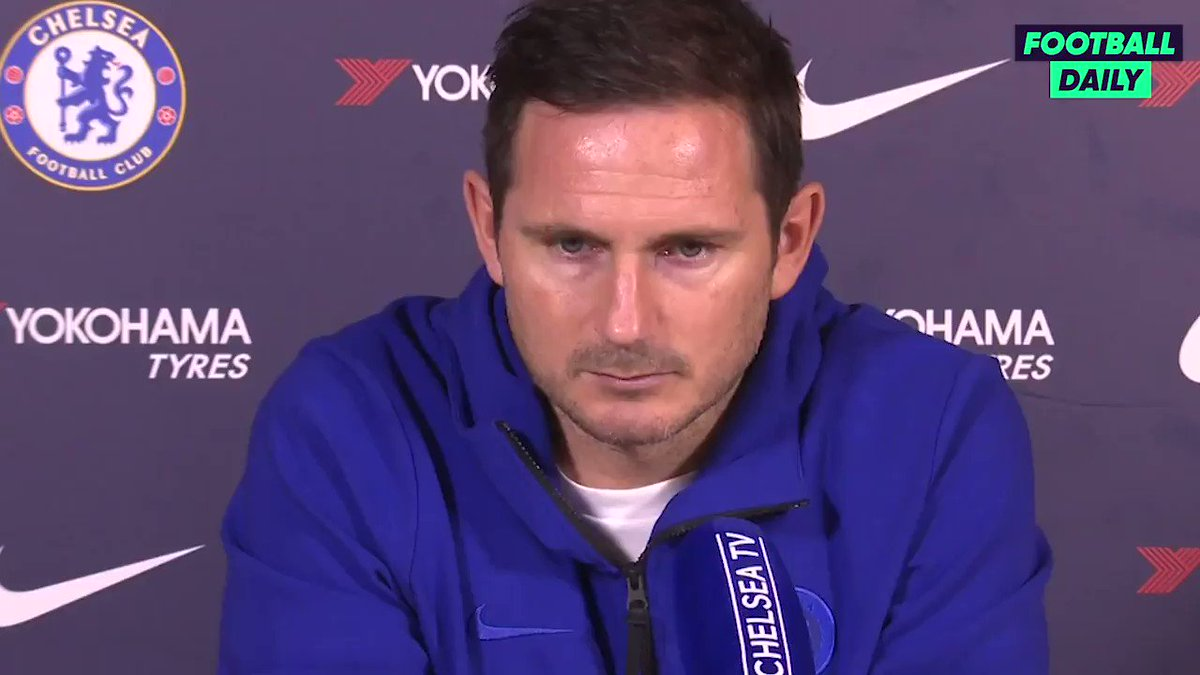 Frank Lampard on Ross Barkleys future 🗣Theres no talk of Ross going anywhere, hes our player