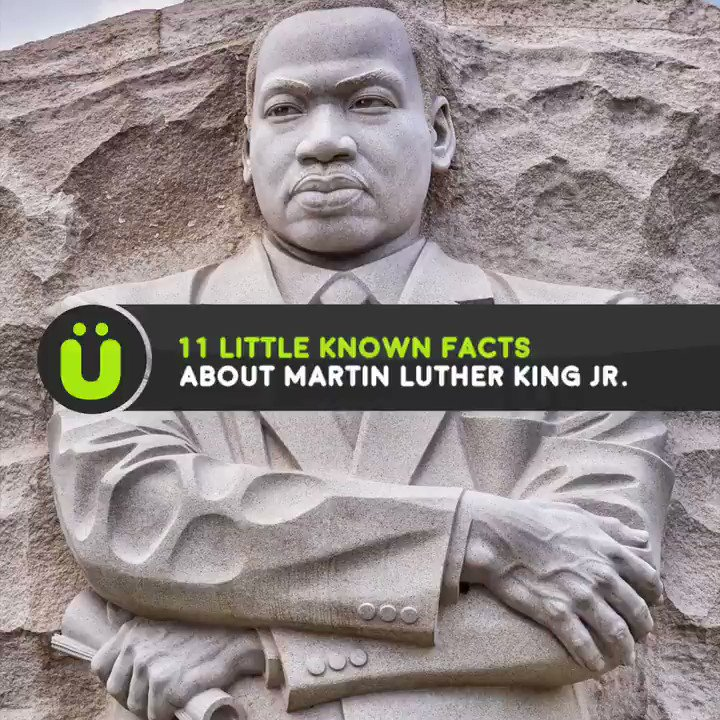 Facts you might not know about Martin Luther King Jr. #mlkday