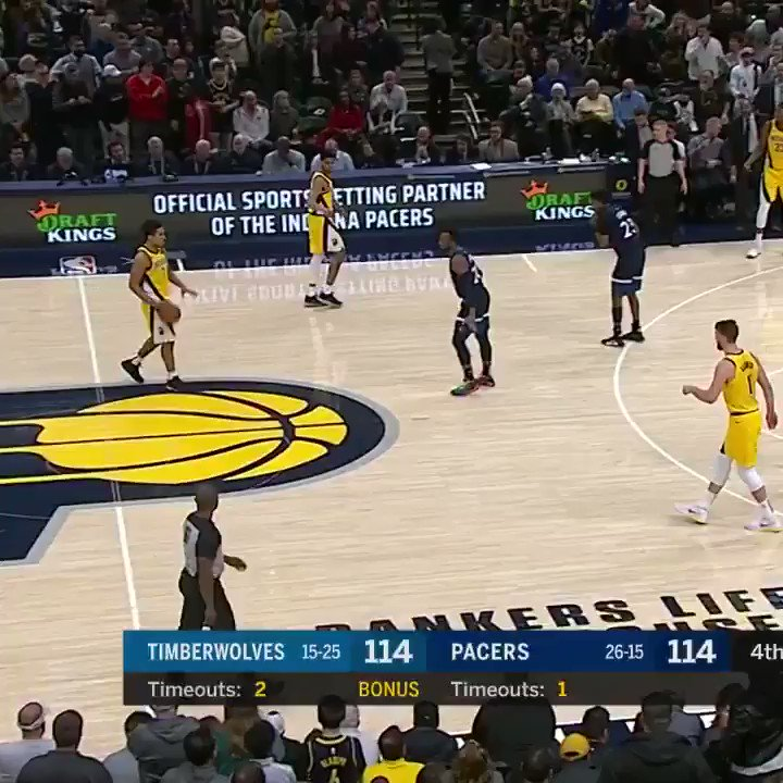 Game-winning bucket from Malcolm ❄️  ⭐️ http://Pacers.com/Vote ⭐️