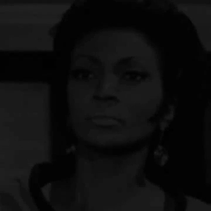 """""""We, who are fighting the good fight, stop to watch you."""" Dr. Martin Luther King Jr. told Star Trek's Nichelle Nichols that she brought hope to his fight for equality, a moment she will never forget. #BlackHistoryMonth"""