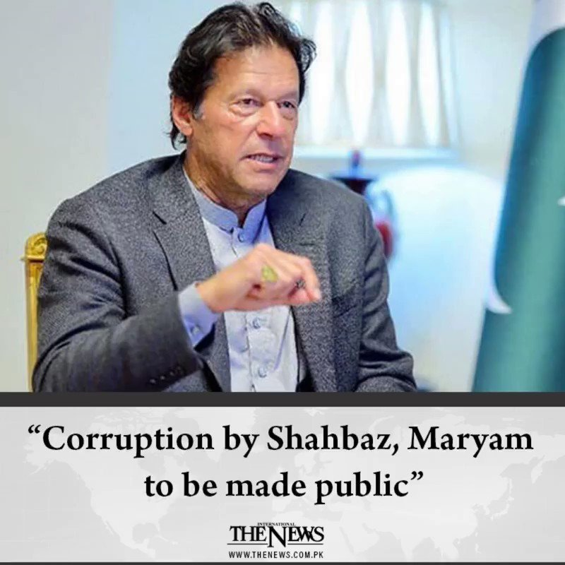 """""""Top stories of today, you shouldn't miss!""""1-Corruption by Shahbaz, #Maryam to be made public: PM Imran Khan#MaryamNawaz.2-#UNSC meeting on #Kashmir to put pressure on India, says #MunirAkramhttps://www.thenews.com.pk/#TheNews"""