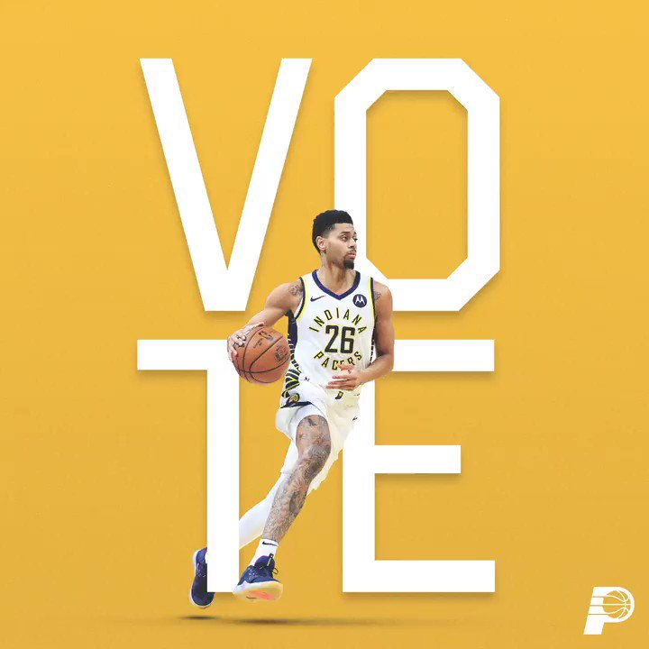 .@NBAAllStar voting ends at midnight on Monday ⌛️  Help send @jlamb to the All-Star Game in Chicago 🗳  http://Pacers.com/Vote ⭐️ #VotePacers