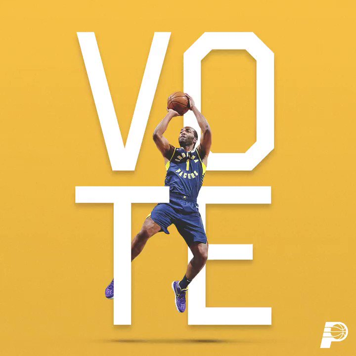 .@TonyWarrenJr has been holding it down nightly 😤  Giannis and T.J. are the 𝐨𝐧𝐥𝐲 players in the East averaging 18 points or more while shooting better than 50% from the field 🎯  http://Pacers.com/Vote ⭐️ #VotePacers