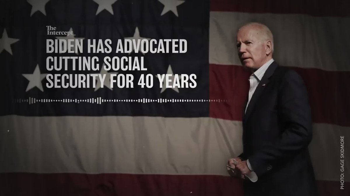 Let's be honest, Joe. One of us fought for decades to cut Social Security, and one of us didn't. But don't take it from me. Take it from you.