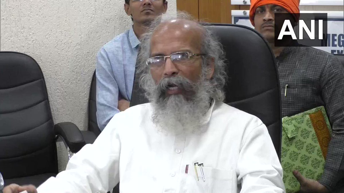 #WATCH Union Minister Pratap Sarangi in Surat, Gujarat: Those who do not accept Vande Mataram have no right to live in India. (18.01.2020)